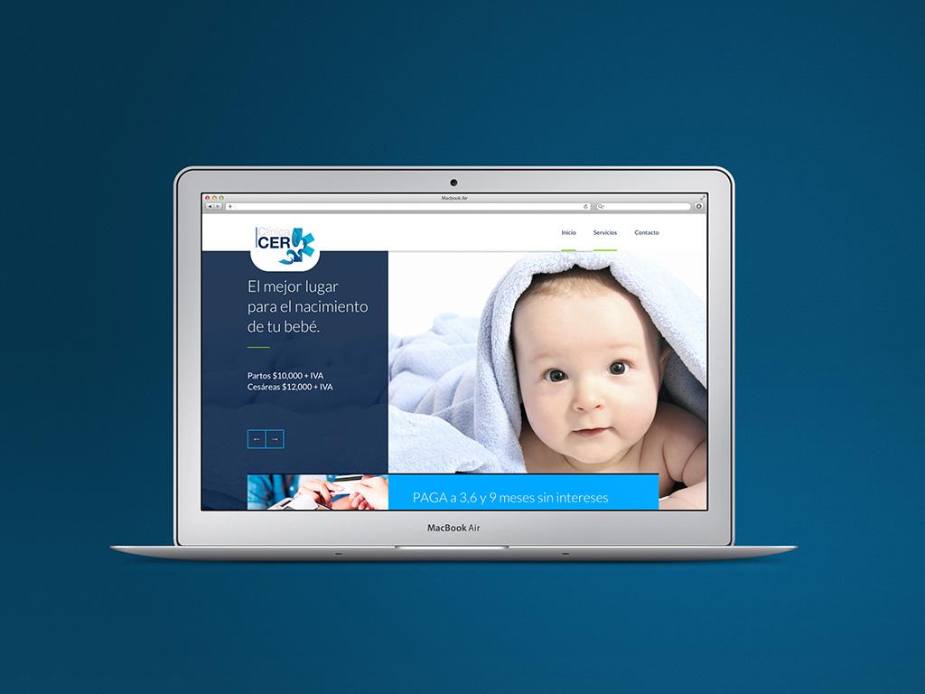 Clínica CER Diseño web