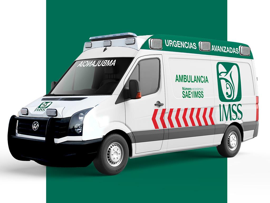 IMSS Ambulancia